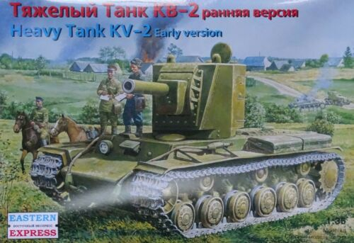 EASTERN EXPRESS 35089 Russian Heavy Tank KV-2 Early Version in 1:35