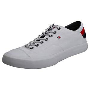 Lace Long Hilfiger Da Eu Tommy Uomo Scarpe Ginnastica White 42 Sneaker Rq6E5xEw