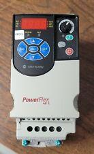 5 Hp 22f A2p5n103 200 240v Powerflex 4m Single Phase To 3 Phase Ac Drive Used