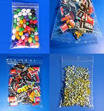 Clear Polypropylene Cello Zip Lock 2 Mil Reclosable Hanghole Zipper Seal Bags