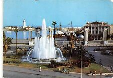 BG11901 malaga plaza de la marino y puerto   spain