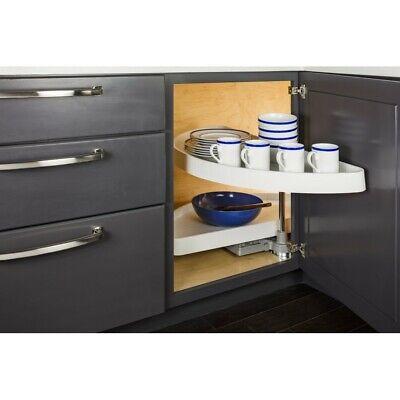 Kitchen Blind Corner Cabinet Half Moon Lazy Susan Pull Out Shelves 12 Opening Ebay
