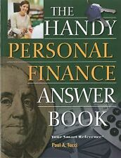 The Handy Personal Finance Answer Book (The Handy Answer Book Series) Tucci, Pa