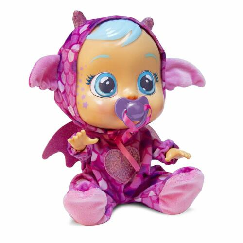 """Cry Babies Bruny The Dragon 12/"""" Tall Doll Cry Real Tears Girls Interactive Toys"""