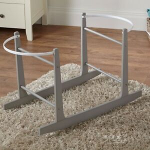 Grey Rocking Moses Basket Stand 5057880142523