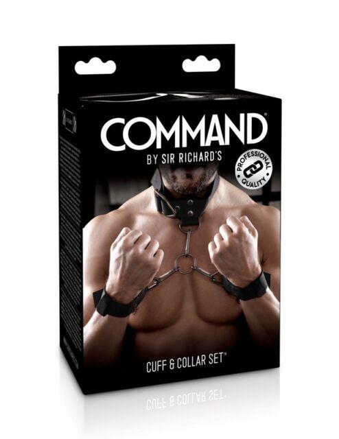 Sir Richard's Command Cuff and Collar Set Sir Richards