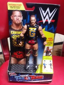 WWE Wrestling Tough Talkers Total Tag Team  Big Cass Action Figure