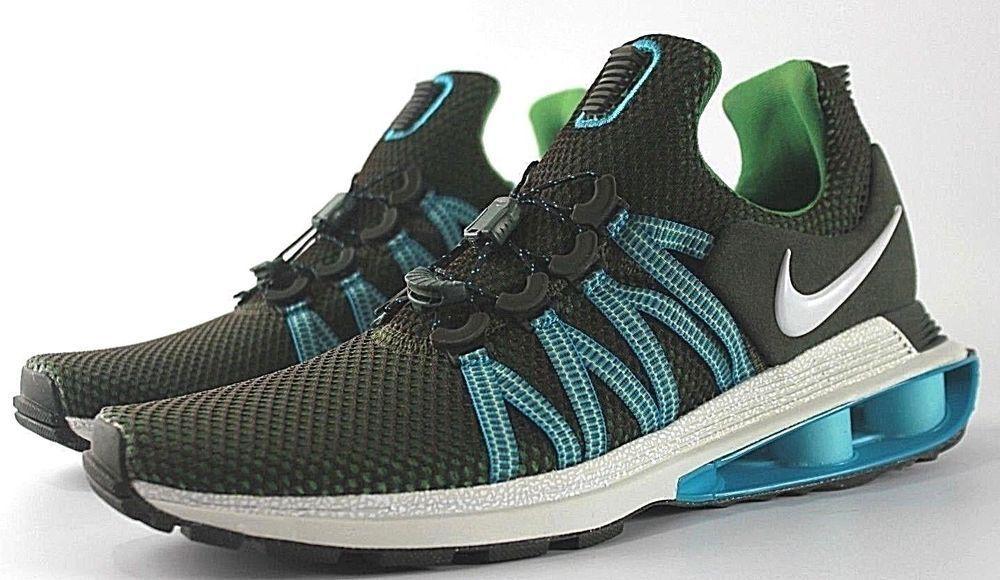Nike Blue SHOX Gravity Mens Running Shoes Sequoia White Blue Nike Fury AR1999 300 NIB 2239d9
