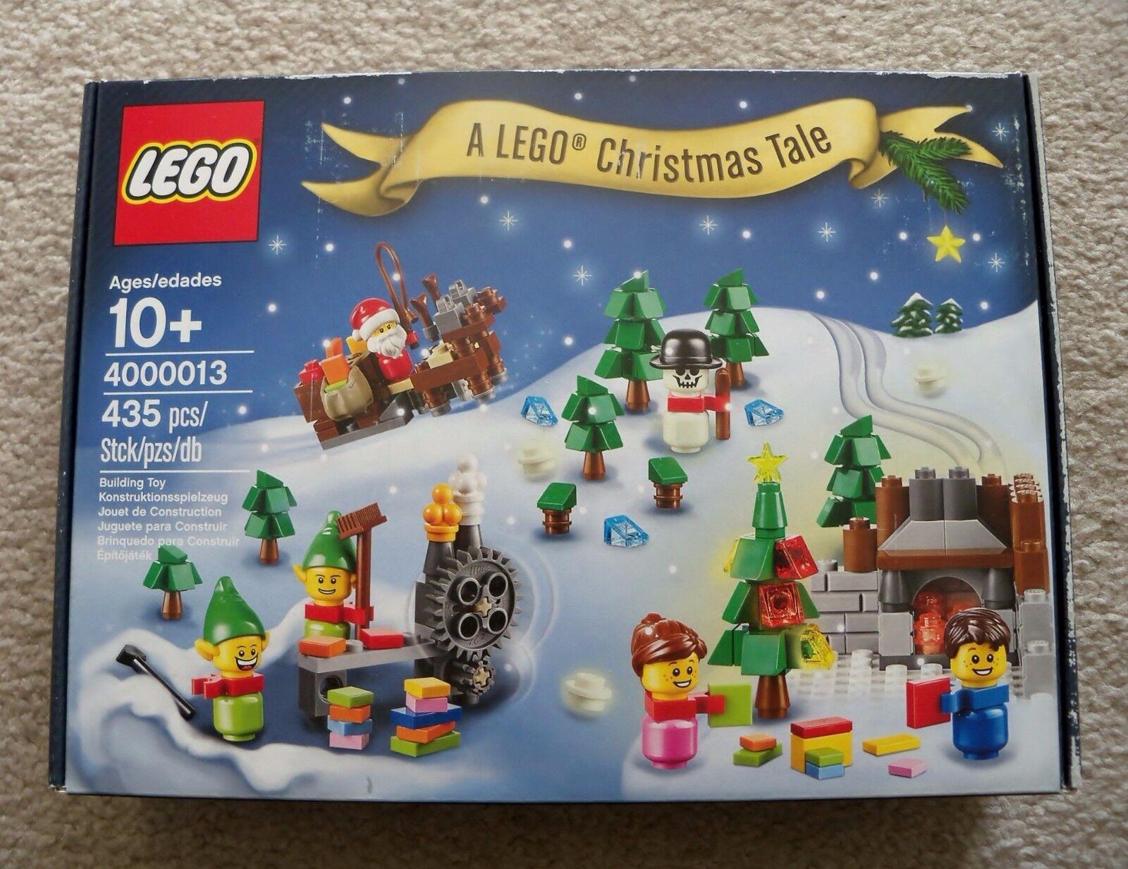 Lego Holiday - Raro - un Lego Navidad Tale 4000013 - Nuevo (Minor Caja Ropa )