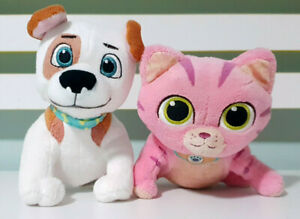 Lot-of-2x-Disney-Doc-McStuffins-Animal-Plush-Toys-Whispers-amp-Olive-11-15cm-Tall