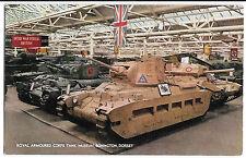 Royal Armoured Corps Tank Museum Bovington,  PPC, Unposted, Matilda 2, Crusader