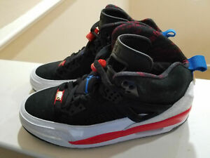 detailed look 3f669 343aa Image is loading NEW-NIKE-AIR-JORDAN-SPIZIKE-WHITE-BLACK-INFRARED-