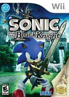 Sonic And The Black Knight Nintendo Wii Brand And Sealed
