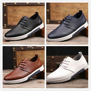 2017 New England Men's leather casual fashion sneakers lace casual shoes