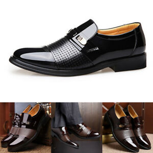 Men-Formal-PU-Leather-Shoes-Business-Formal-Slip-on-Breathable-Hollow-Shoes