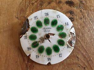 Pocket-Watch-Quadrante-Perfection-W-amp-d-Sfera-Da-Orologio-Tasca-Antique