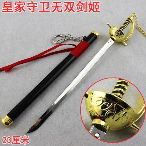 League of Legends Night Raven Blade Waltz Fiora sword full Metal 23cm
