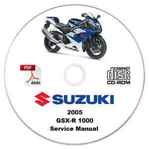 Suzuki-GSX-R1000-2005-K5-Service-Manual-CD