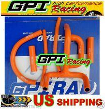 GPI silicone radiator hose KTM LC4 620 625 640 660 ORANGE