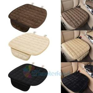 Winter-Plush-Anti-Slip-Car-Seat-Cover-Pad-Lattice-Pattern-Auto-Chair-Cushion