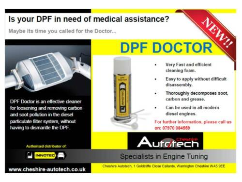 03 x TINS Innotec DPF Doctor Cleans WITHOUT Removal Authorised Distributor