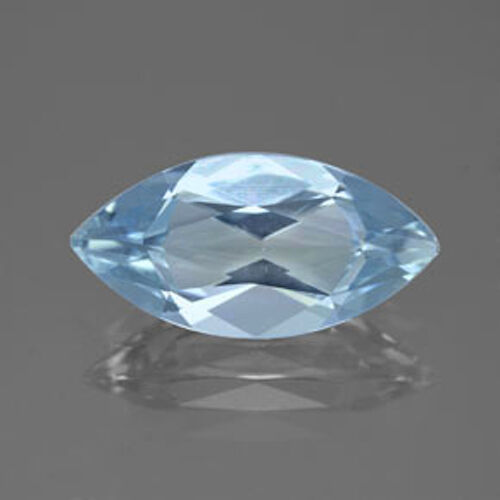 Masterpiece Collection Marquise Faceted AAA Natural Aquamarine 5x2.5 to 8x4mm