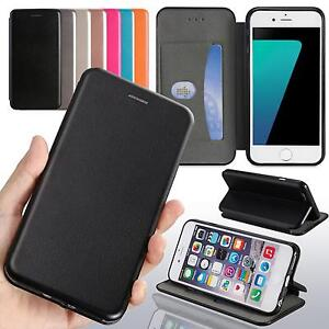 Handy-Tasche-fuer-Samsung-Galaxy-iPhone-Flip-Cover-Case-Schutz-Huelle-Etui-Wallet