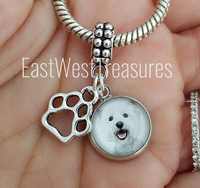 9mm Classic Size Italian Charms C1 Dog Dogs Westie West Highland Terrier