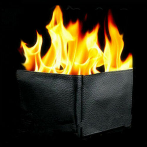 Magic Trick Flame Fire Wallet Große Flamme Magier Trick Wallet Stage Stre JE