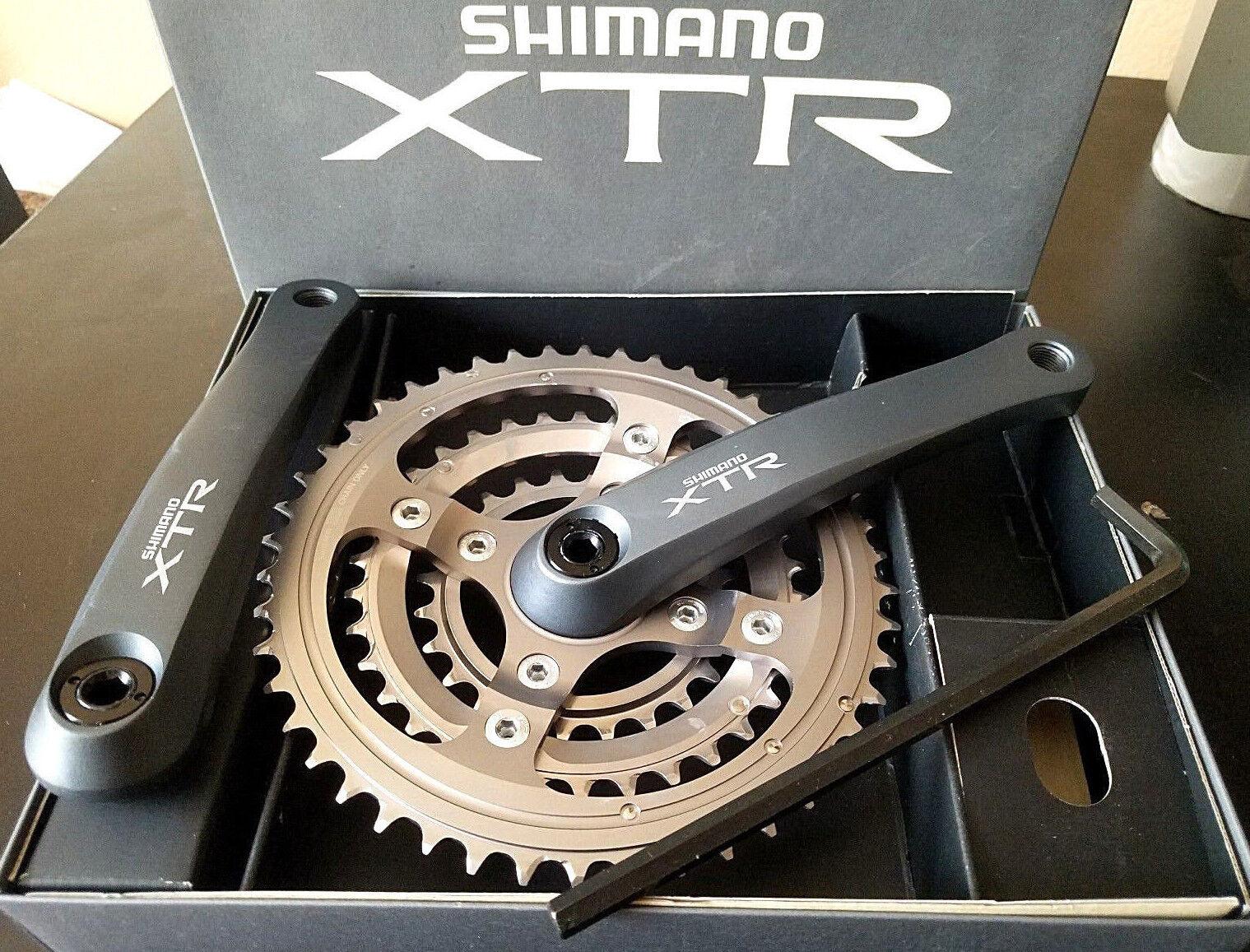 NOS SHIMANO XTR FC M950 4-ARM CRANKSET 170MM MTN BIKE CRANK 46 34 24 RARE NIB