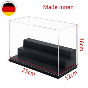 DE Einzelvitrine 250x120x160mm Acryl Vitrine Plexiglas Display Case Schaukasten