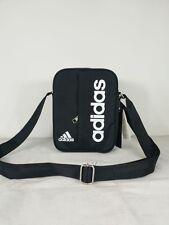 adidas performance linear small items organiser bag travel Satchel Black