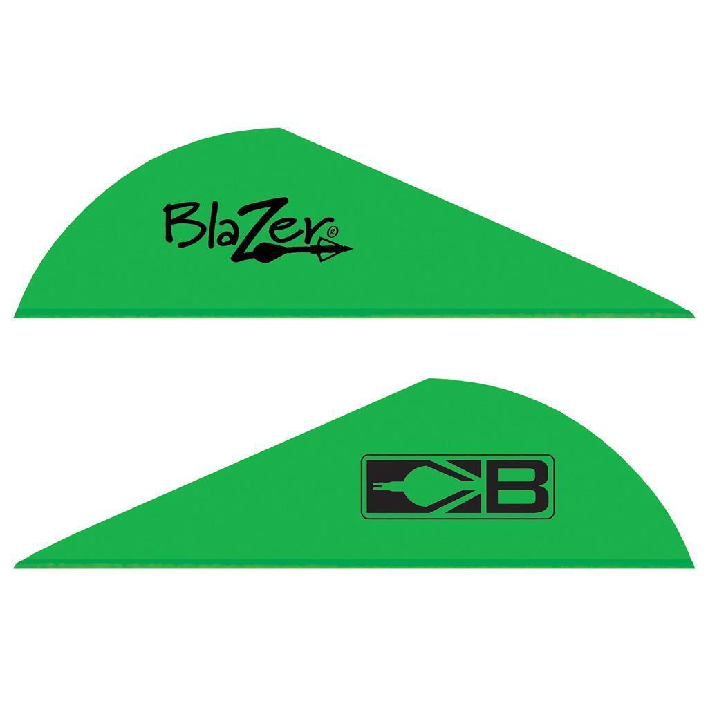 Bohning Blazer Paletas Neón verde 1000 Pack