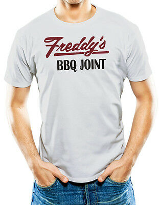 Freddy's Barbeque Joint House of Cards Grey T Shirt T-Shirt