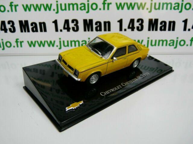 CVT5 voiture 1/43 IXO Salvat BRESIL CHEVROLET : Chevette SL 1979
