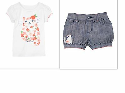 GYMBOREE TODDLER BABY GIRL BLOSSOM RUFFLE SHORTS SIZE 2T 3T 4T SPRING SUMMER NWT