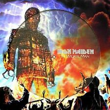 IRON MAIDEN  -  THE WICKER MAN  LIMITED  PICTURE  MLP