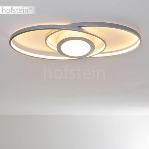 Decken Lampe LED Flur Leuchte silberfarben Wohn Schlaf Zimmer Beleuchtung modern