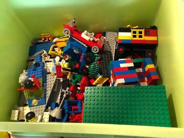 Lego blandet, lego