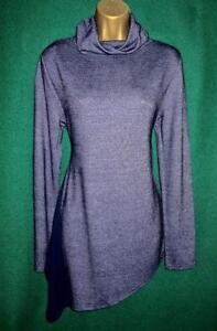 12 Morgan Uk Caroline blu maniche scuro poloneck lunghe blu Novità asimmetrico 9310005944959 in 10 Top a xawI55A