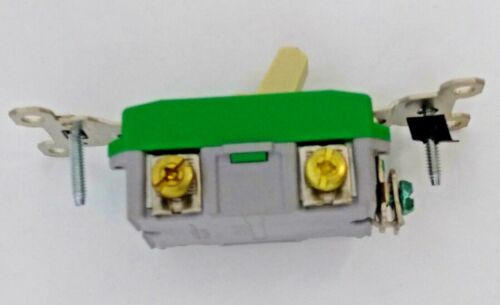 Legrand Pass Seymour PS30AC2I 30A 120V Extra Heavy Duty Industrial IVORY Toggle