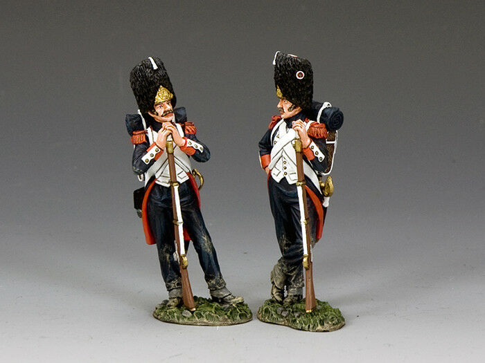 King and Country Guardsmen-At-Ease NA400