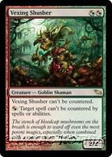 VEXING SHUSHER Shadowmoor MTG Red/Green Creature — Goblin Shaman RARE