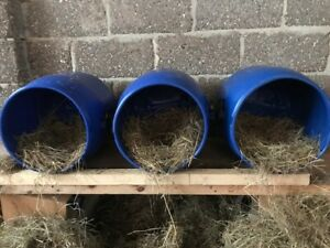 3x50Ltr Recycled Plastic Barrel ideal for Chickens/Ducks Nest Box Easy To Clean