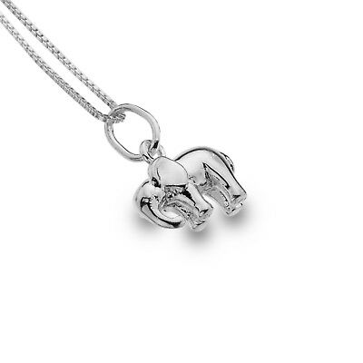 Gut Ausgebildete Asian Elephant Pendant Sterling Silver Necklace 925 Hallmark All Chain Lengths Dauerhaft Im Einsatz