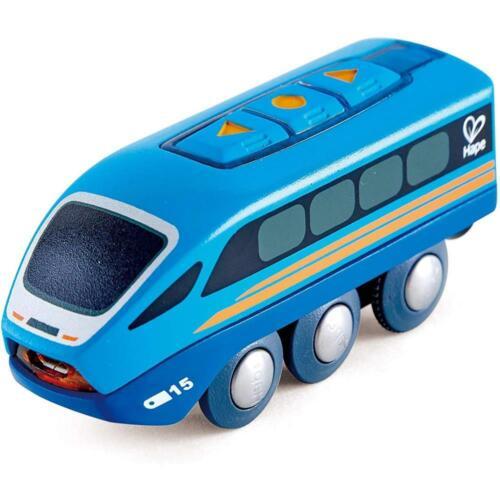 Hape E3726 Ferngesteuerter Zug App-Steuerung Holzeisenbahn ab 3 Jahre geeignet