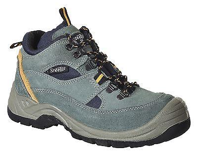 Luminosa Portwest Steelite Hiker Sicurezza Stivali Scarpe Toecap Intersuola Workwear 5 - 13 Fw60-