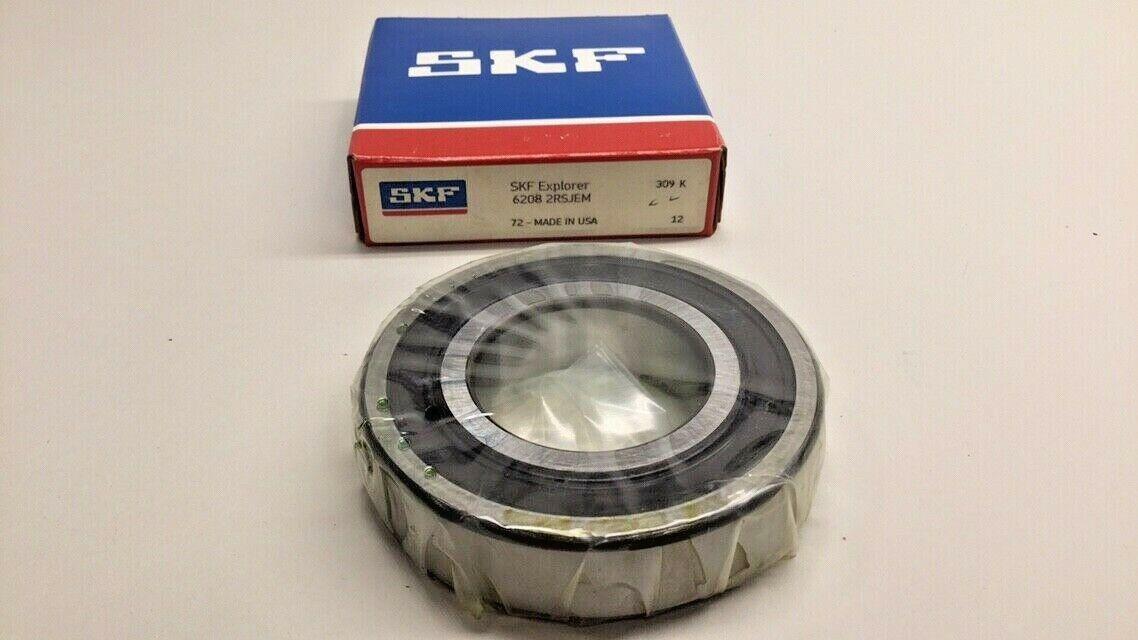 SKF Rillenkugellager 6208-2RS1//C3GJN 365 gr.