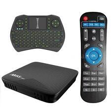 M8S PRO 17.0 Android 7.1 Nougat 4K Smart TV BOX S912 Octa Core WIFI BT +Keyboard