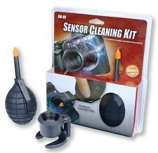 Sensor Cleaning Kit LED Lighted 5 x30mm Camera Sensor Magnifier w/ Dust Blaster